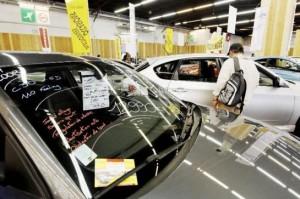 marché des voitures d'occasion